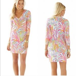 Lilly Pulitzer Christie Dress in Scuba to Cuba S